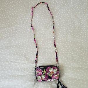 Vera Bradley wallet small purse lanyard